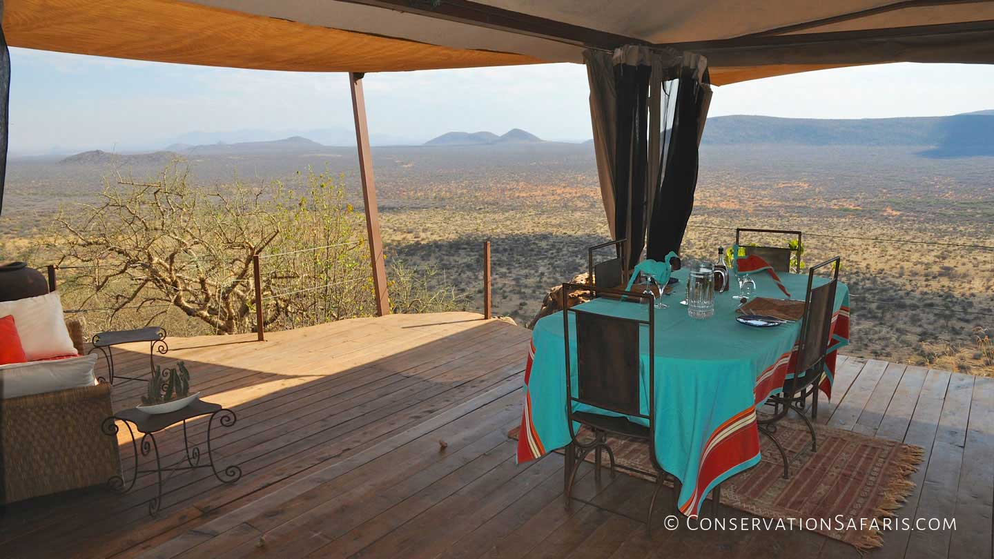 Luxury Accommodation at Saruni Samburu, Kenya