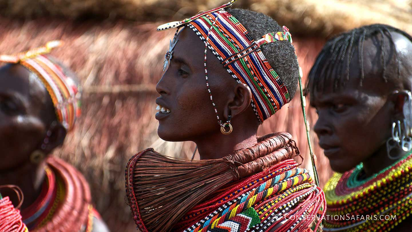 Turkana tribe women, Kenya