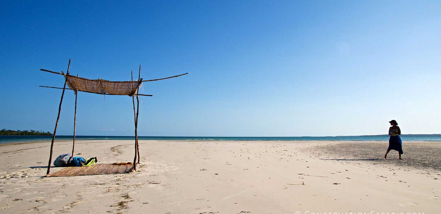 Private sandbank beach, Funzi Keys, Kenya