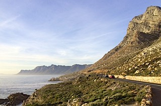 Stunning drive in Cape Town, South Africa